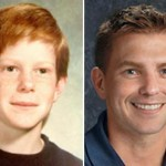 Pictured L to R: Mark at age 11 and photograph age progressed to 34 years old (Courtesy: FBI)