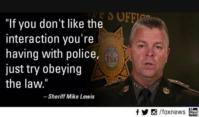 Wicomico County Sheriff Mike Lewis Makes A Bold Statement