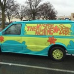 Woman Driving 'Scooby Doo Mystery Machine' Leads Police on Chase – Her Whereabouts a Mystery