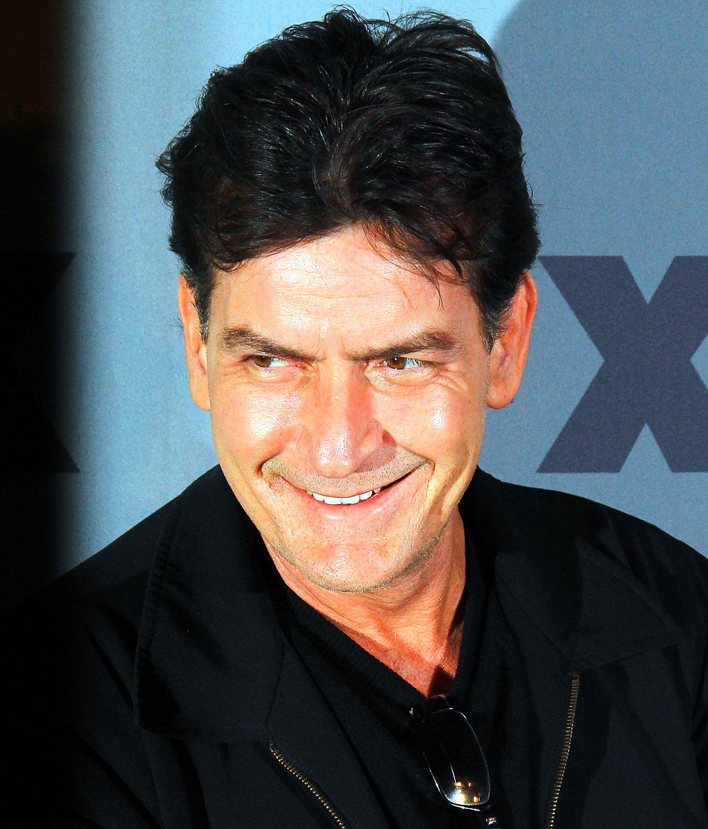 Charlie Sheen Source: Wikimedia Commons