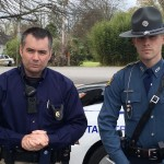 Deputy Ballard and Trooper Pevehouse Source: Vimeo/Monticello Live