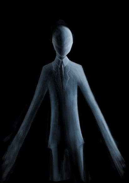 Pictured: Slender Man (Via Wikimedia Commons)